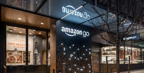 Amazon's cashier-free Go stores may only need six human employees