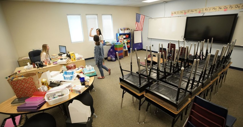The pandemic's toll: nearly 500,000 public education jobs disappeared across U.S. in April