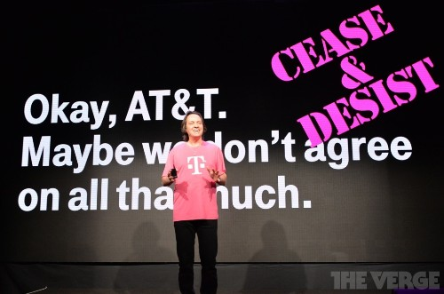 John Legere says he'll challenge AT&T's 'fastest network' claims with cease and desist letter