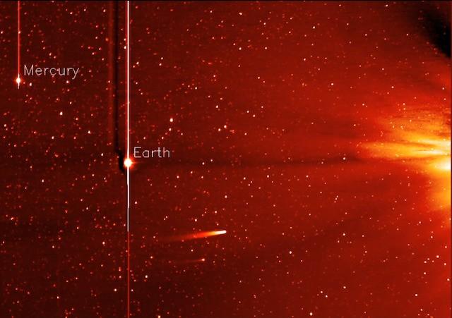 Watch comet ISON hurtle toward the sun in stunning NASA video