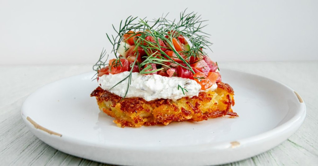 D.C.'s New Euro Cafe Builds Breakfast, Lunch, and Dinner on Swiss Potato Cakes
