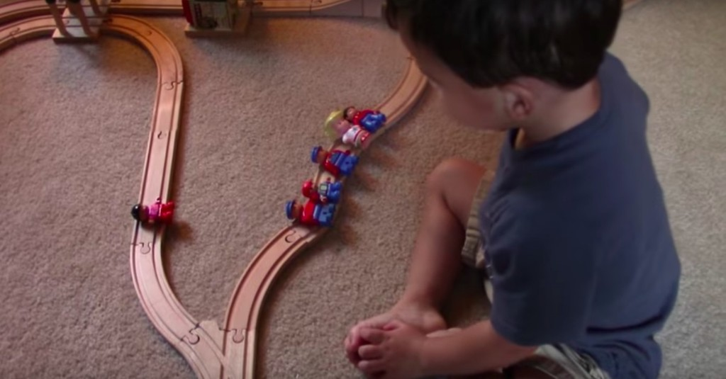 Watch a 2-year-old solve one of philosophy's most famous moral dilemmas