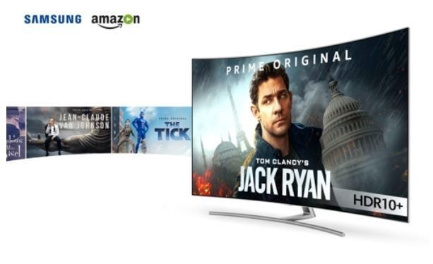 Samsung and Amazon will start streaming HDR10+ content tomorrow