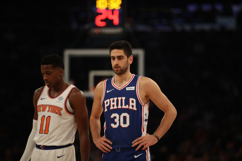 Sixers take a bite out of the Big Apple