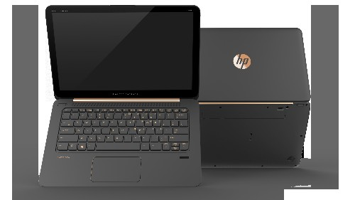 This HP laptop looks pretty dope