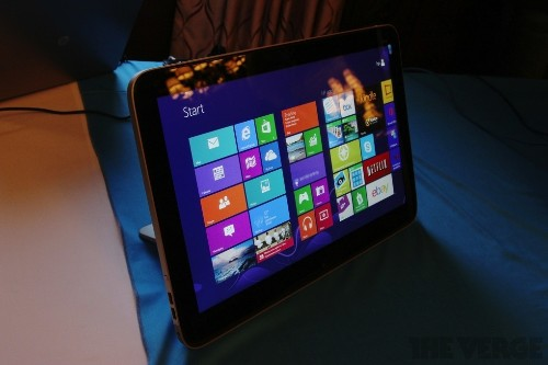 HP Envy Rove 20 is the company's stab at a giant all-in-one Windows 8 tablet