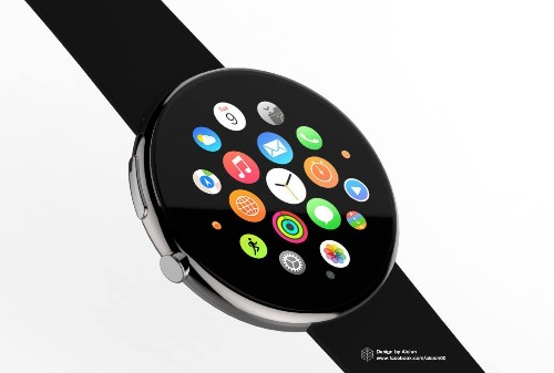What if the Apple Watch was round?
