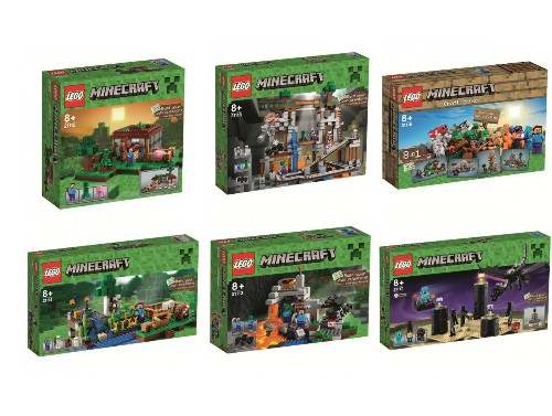 These new Lego Minecraft sets look decidedly more 'Lego' than ever before