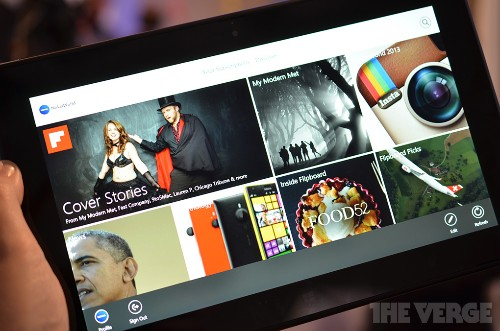 Flipboard arrives on Windows 8.1 with Live Tile support