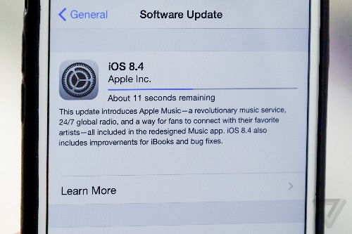 iOS 8.4 with Apple Music is now available