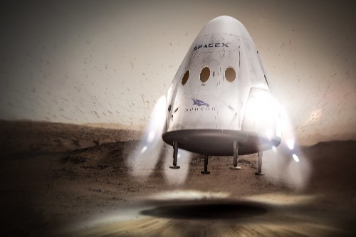 SpaceX plans to send a spacecraft to Mars as early as 2018