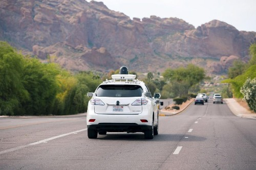 Google self-driving cars head to Arizona to test desert road conditions