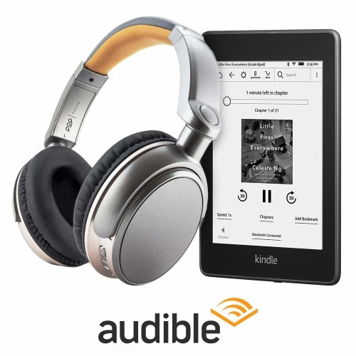 Amazon is selling a Kindle Paperwhite and Audible bundle