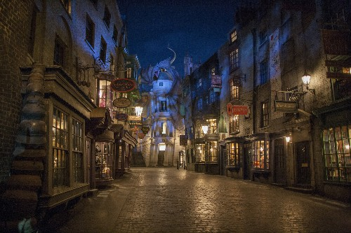 A first look inside the ambitious Harry Potter theme park opening next month