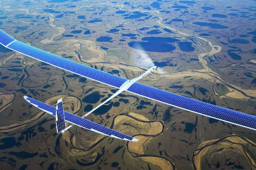 Google's Project SkyBender aims to beam 5G internet from solar-powered drones