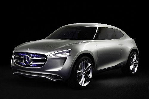 Mercedes-Benz has a new concept car powered by its paint job