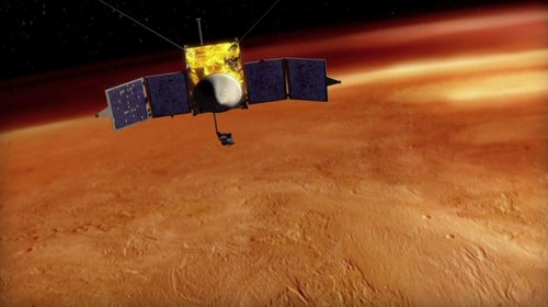 NASA uses emergency exception to save Mars mission from government shutdown