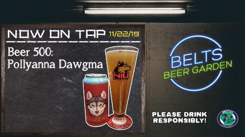 Belt's Beer Garden: 500th Review!