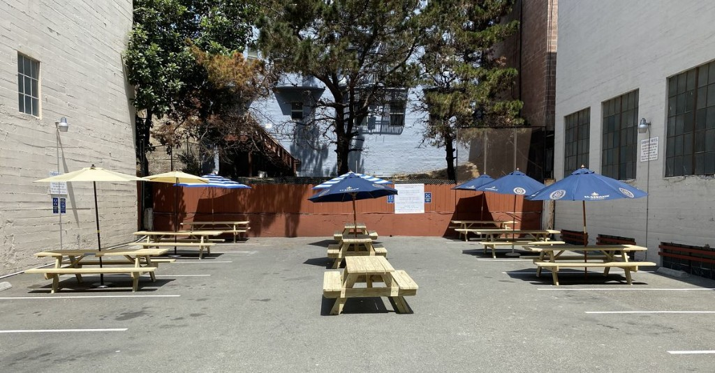Lush Victorian Gin Bar Pivots to Tenderloin Parking Lot Beer Garden