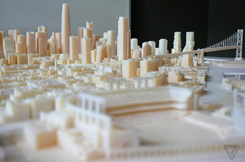 This massive 3D-printed model shows off San Francisco in amazing detail