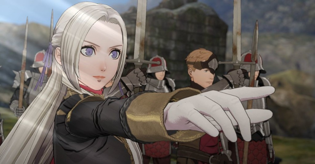 I'm still comforted by Fire Emblem: Three Houses, 240 hours in
