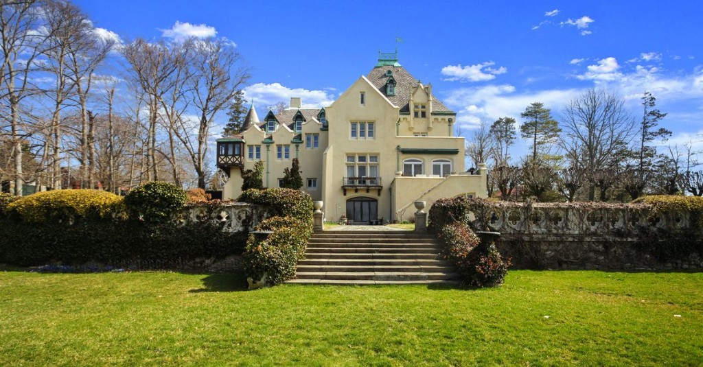 A 30-room castle under an hour from Manhattan asks $4.5 million