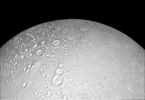 NASA's Cassini spacecraft snaps close-up images of Saturn's icy moon Enceladus