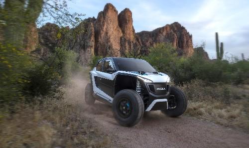 Nikola's off-road EV is a high-tech speed demon