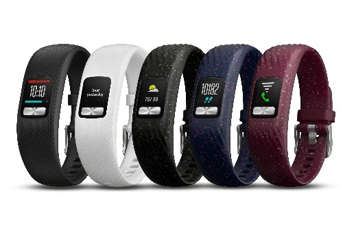 The Vivofit 4's battery should last at least a year