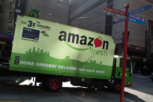 Amazon's same-day grocery delivery service launches in New York