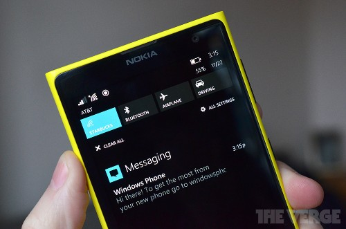 Windows Phone 8.1 includes Start Screen backgrounds and browser sync features