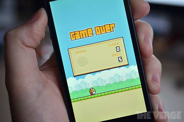 Apple and Google are fighting 'Flappy Bird' clones