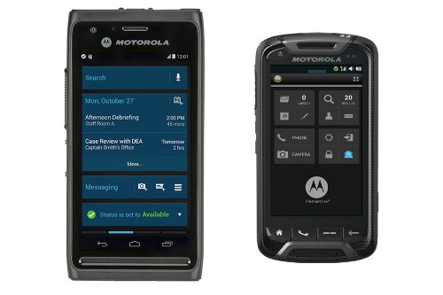 In an alternate universe, Motorola is making weird Android phones for cops