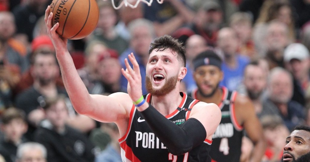 """Jusuf Nurkic Expects to Play """"Some Minutes"""" at Power Forward"""