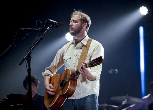 Bon Iver owns a Tesla called 'John Teshla'