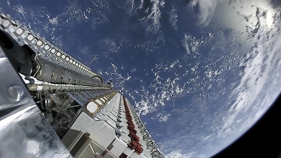 SpaceX is in communication with all but three of 60 Starlink satellites one month after launch