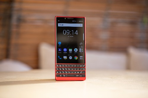 BlackBerry's new Key2 has double the storage and a very red color scheme