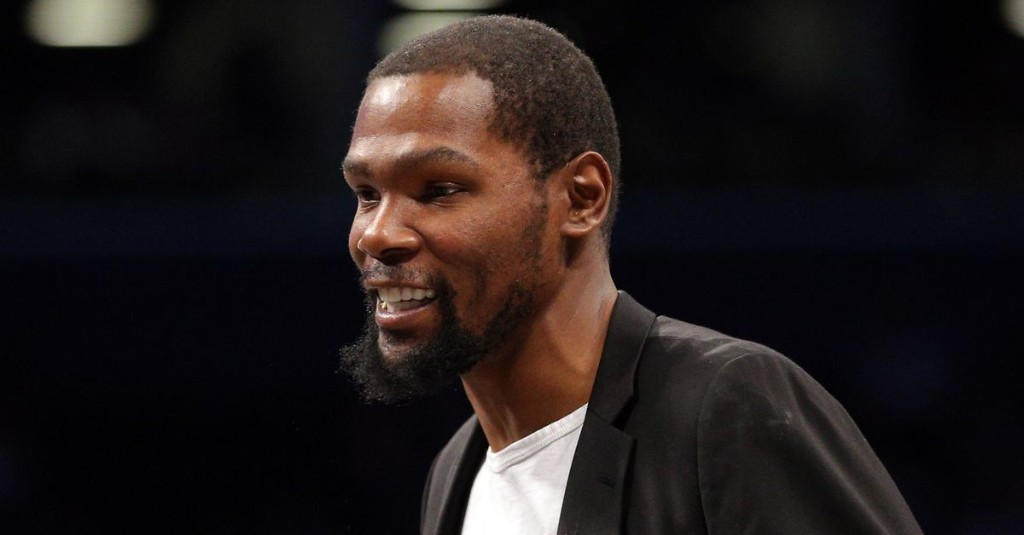 Excerpts: Kevin Durant on the Nets, Kyrie Irving and Caris LeVert, Brooklyn