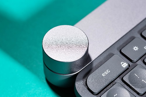 The Logitech Craft keyboard's giant button is a tactile dream