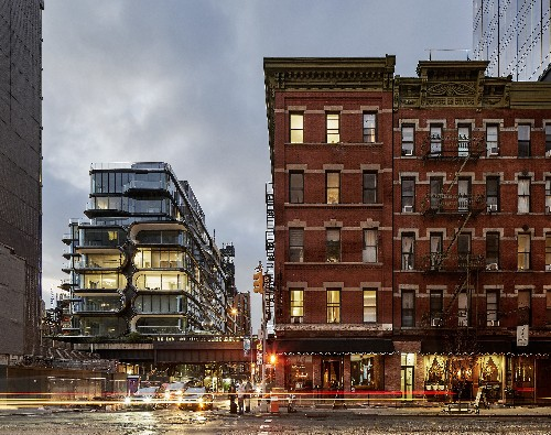 Get a peek inside Zaha Hadid's futuristic High Line condo, now complete