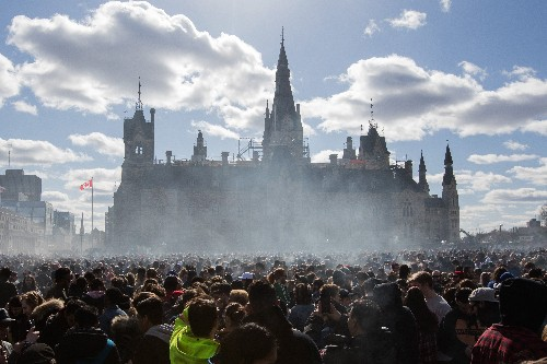 Canada just legalized marijuana. That has big implications for US drug policy.