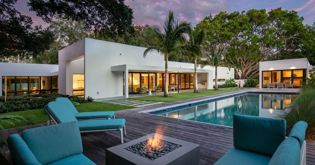 All-white Sarasota home with lap pool asks $4M