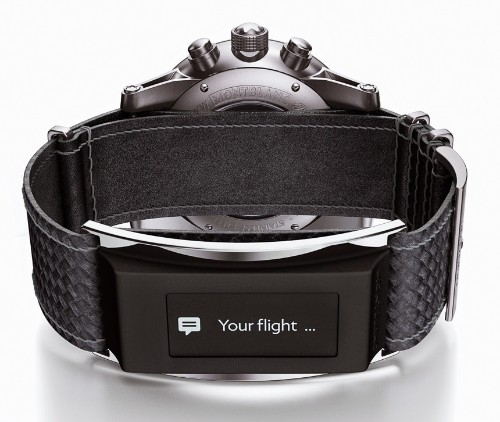 Montblanc announces e-Strap watchband to smarten up traditional watches