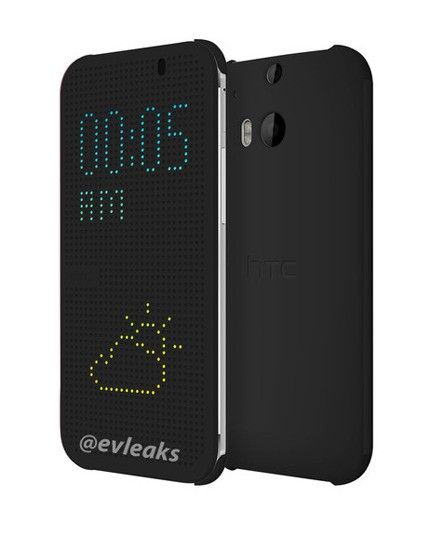 Leaked HTC One cover turns your smartphone into a Lite Brite