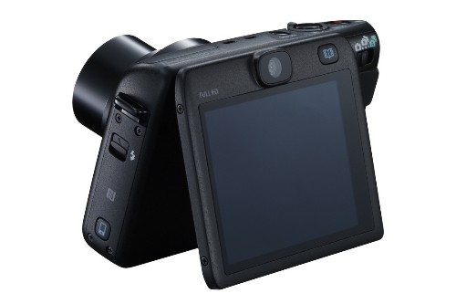 Canon's new compact superimposes selfies on your snapshots