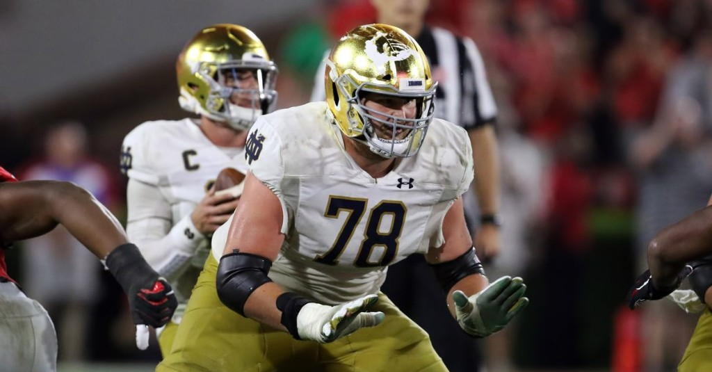 This Guy Plays Notre Dame Football: #78 Tommy Kramer, Offensive Line