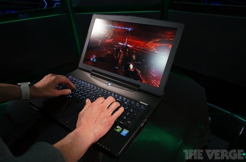 Gigabyte fits a gaming powerhouse inside an inch-thick laptop