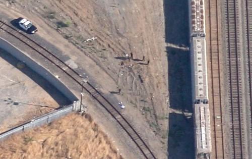Google satellite photo shows a murder scene, says victim's father