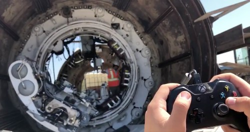 The Boring Company shows off a new way to operate its machines: an Xbox controller