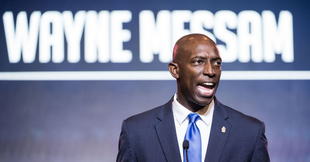 Wayne Messam, who called on Americans to #BeGreat, suspends his presidential bid